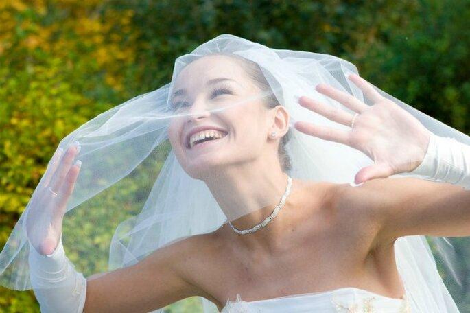 Ecco 6 tipi di velo per il tuo abito. foto: sposalicious.com