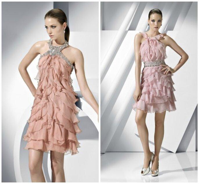 Colores de moda para invitadas a bodas de día. Mirá los vestidos ...