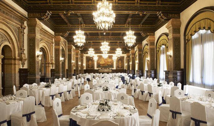Salle de réception Real de l'Hôtel Alfonso XIII