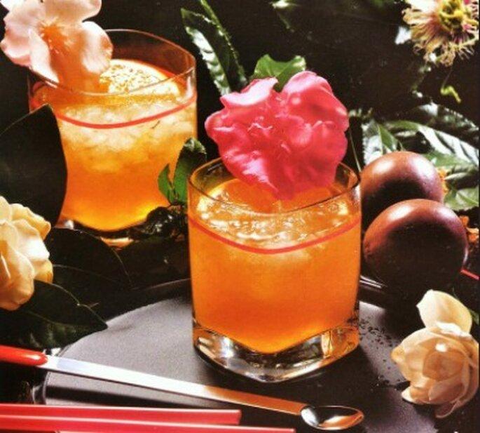 Delicioso coctel para ofrecer en la boda, destornillador. Foto: Spirits Martini Company