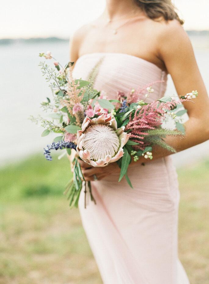 Romántico color blush - Judy Pak