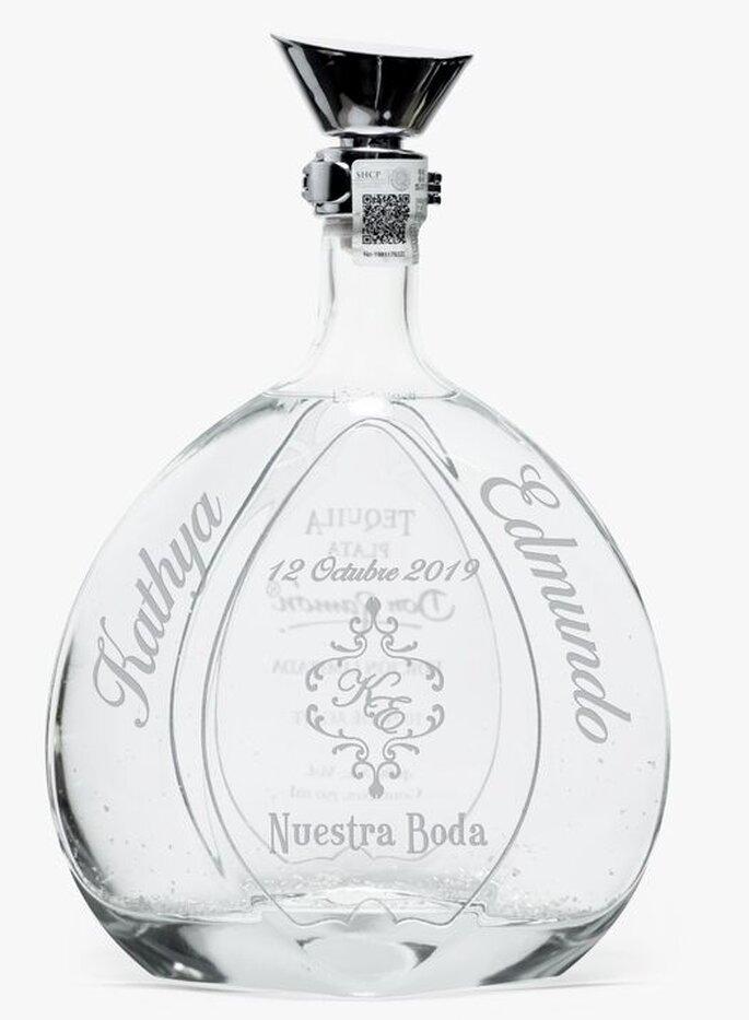 Tequila Casa Don Ramón Personalizado recuerdos boda Atizapán de Zaragoza