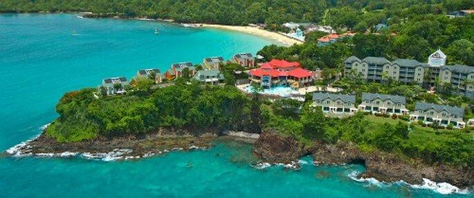 Voyage de noces aux Caraïbes, Sainte Lucie - Photo : Sandal.fr