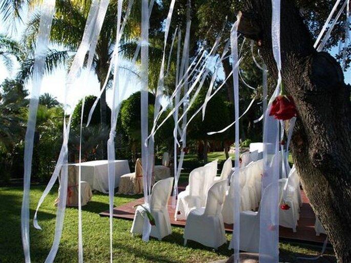 Decoracion Al Aire Libre Para Casamiento ~   boda al aire libre saber m?s sobre cintas para decorar una boda al