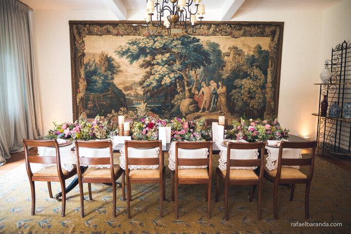 Mesa salão