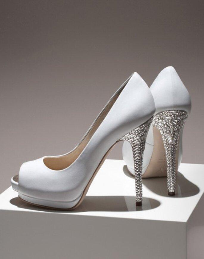 Zapatos de novia con brillantes en el tacon - Foto Giuseppe Zanotti