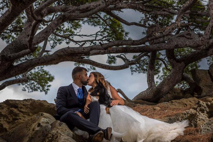 Mirall de Llum fotografia de boda Barcelona