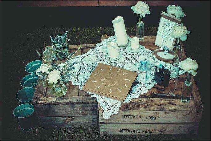 «Guest book»  Photographe – Pierre Sautel Création & mise en place – Label'Emotion Provence
