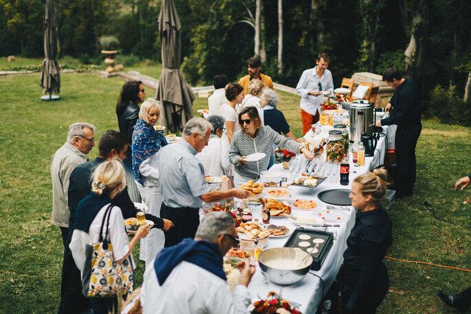 Délices Éphémères - Banquet en plein air le lendemain d'un mariage