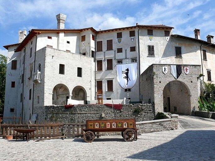 Castello di Valvasone. Foto: www.borgoanticodivalvasone.it