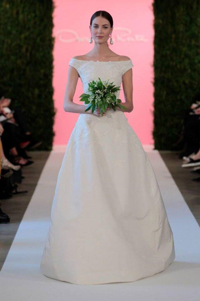 Los vestidos de novia que conquistarán a las más románticas - Foto Oscar de la Renta