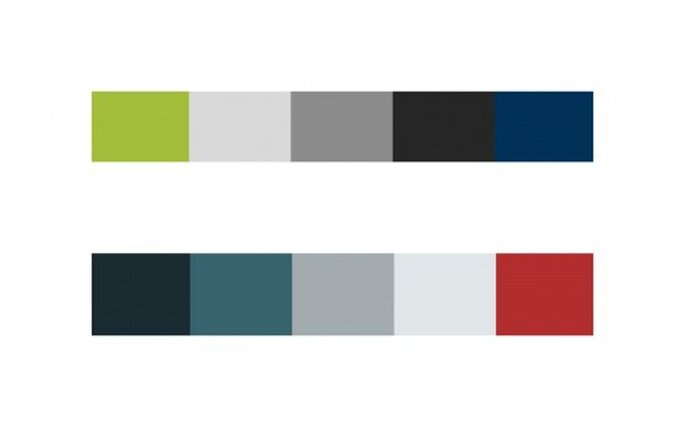 Combinacioines de colores frios