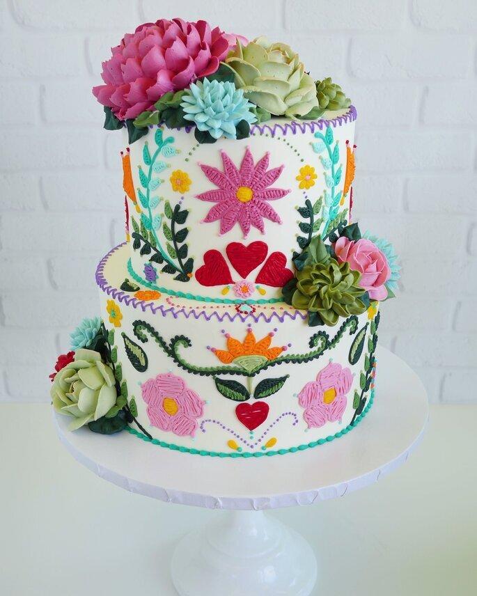 boda mexicana pastel de boda mexicano mesa de dulces mexicana
