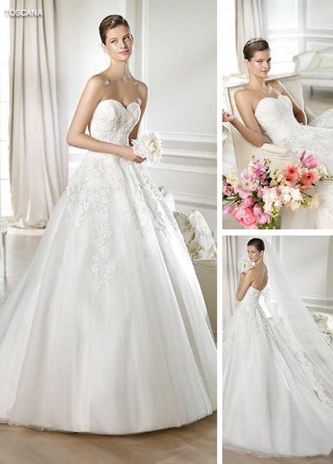 Suknia ślubna Toscania z kolekcji White One 2014