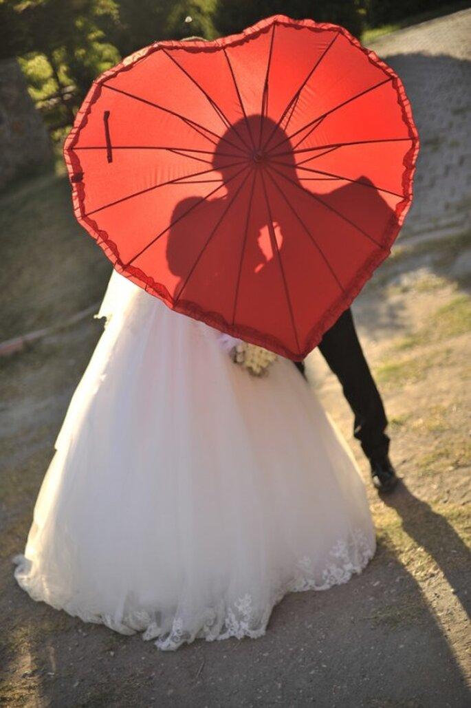 Regenschirmtanz