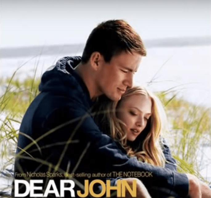 amour cinéma films romantiques cher john dear john armée