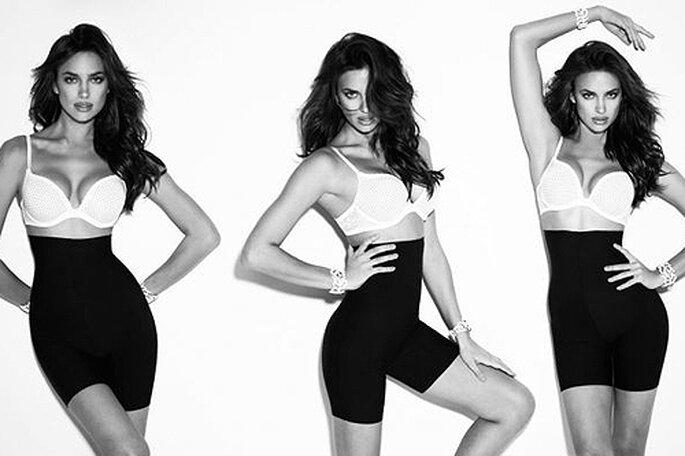 La modelo Irina Shayk es imagen de la línea 'Figure Shaping' de Blanco. Foto: Blanco