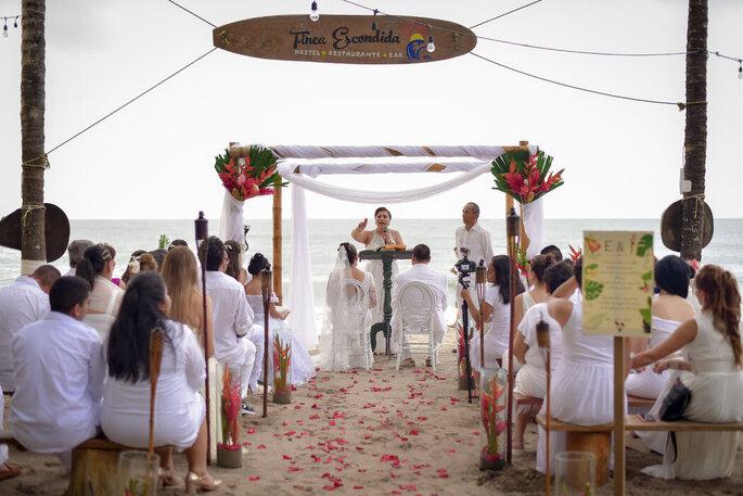 Hostal Finca Escondida bodas en Palomino