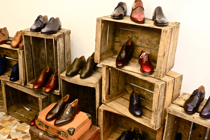 Photo : Shoe Up showroom
