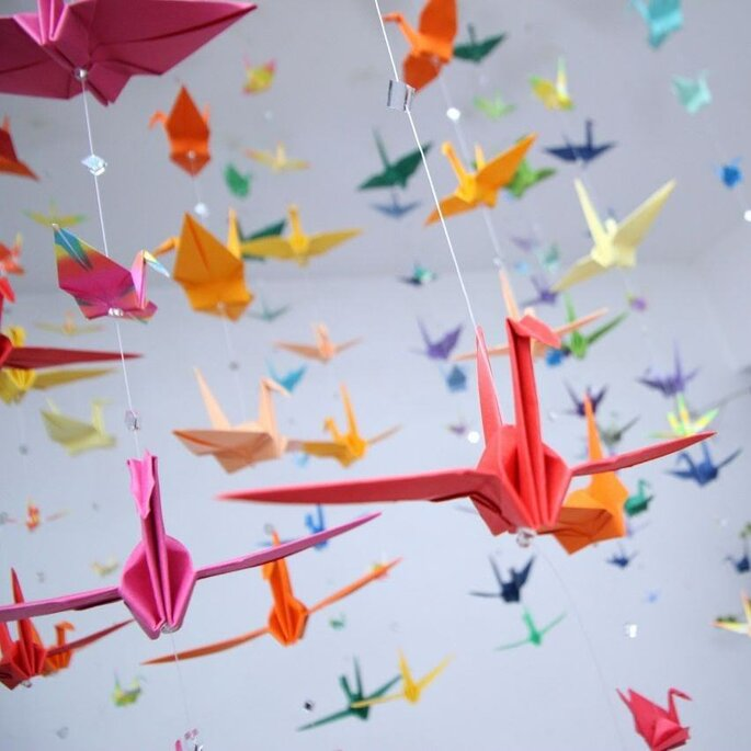 Tsurus origami
