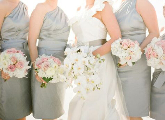 2013 one shoulder Bridesmaid Dresses