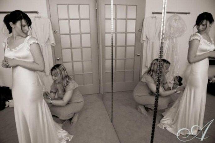 Asegúrate de sentirte cómoda en tu vestido de novia - Foto Allegro Photography