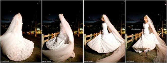 Trying on wedding dress: you can enjoy and do not stress! - Photo: Paulo Heredia