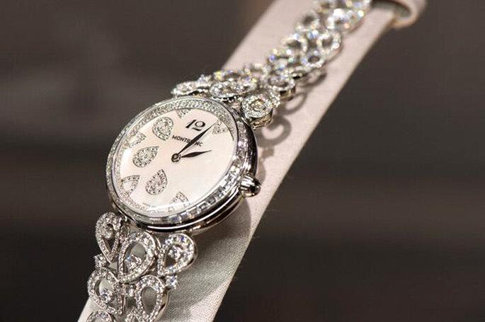 Reloj de la colección Montblanc Haute Joaillerie Petales de Rose - Foto: Facebook oficial Montblanc