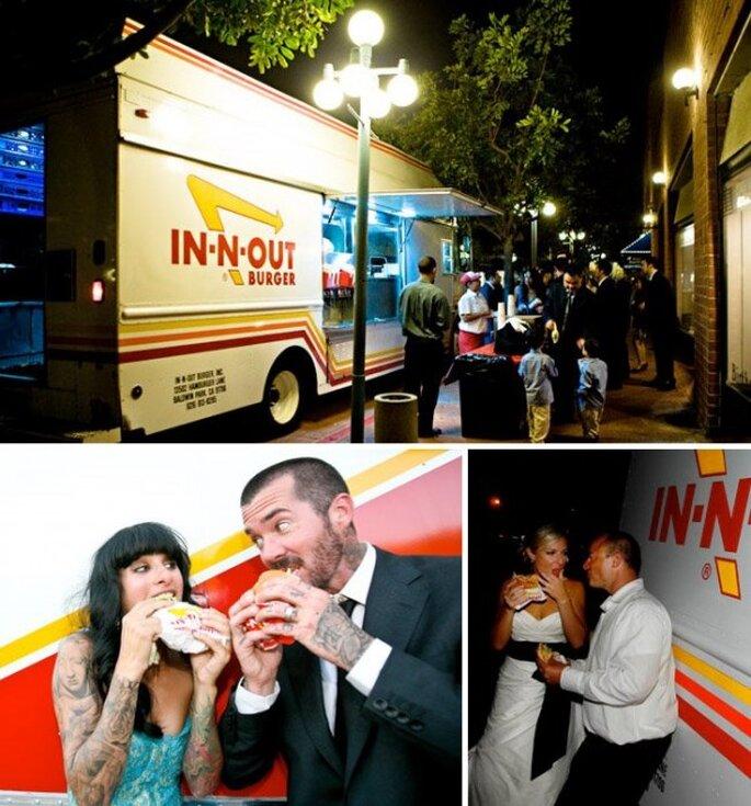 Food trucks en tu banquete de boda - Foto Joe Latter