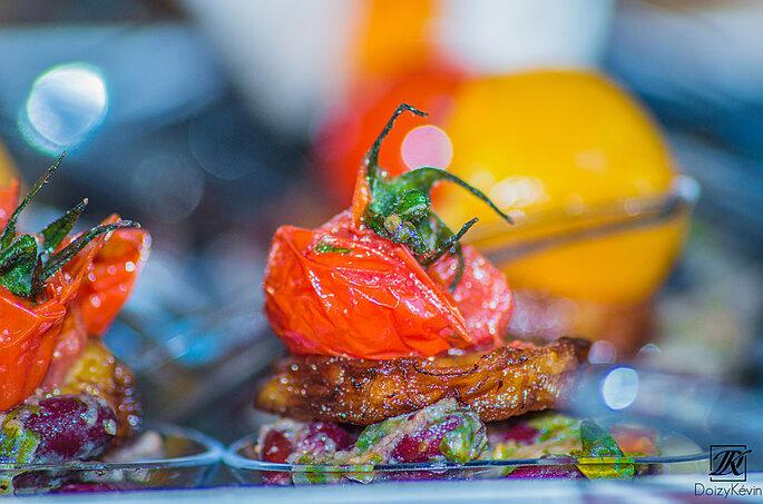 Framboise Mangue Traiteur - un plat savoureux et plein de couleurs concocté par Framboise Mangue Traiteur