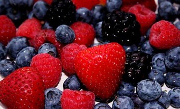 ¿A qué huele tu boda? A frutos rojos...