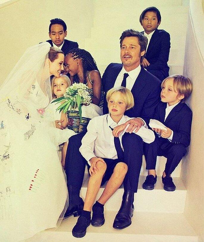 Boda Brad Pitt y Angelina