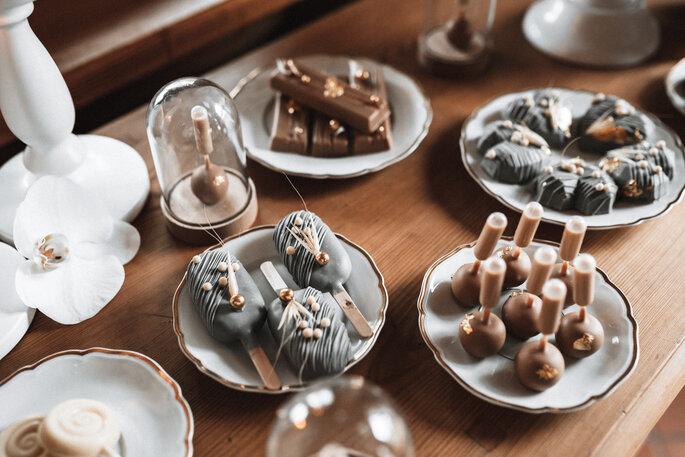 Intime Hochzeit, Eleganz trifft auf rustikalen Flair Sweets