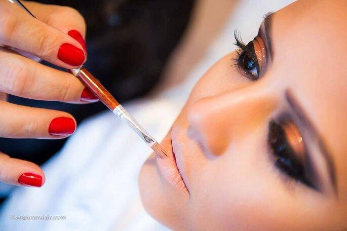 Maquiagem Christina Gall. Foto: Felippe Costa Souza