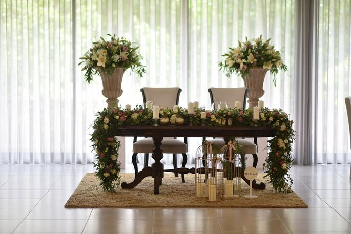 Altar decorado por Bloom Creative