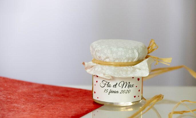 Mon Petit Pot de Miel à offrir en cadeau à vos invités le jour de votre mariage