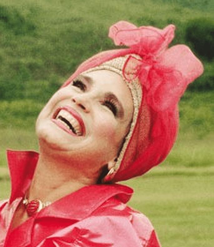 Atriz Regina Duarte como Viúva Porcina