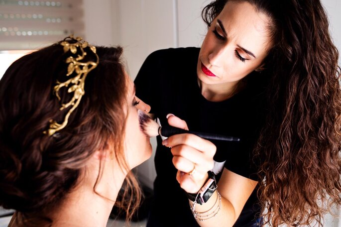 María León Make Up Artist
