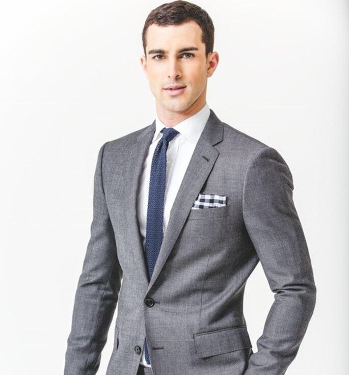 Estilo casual-formal para hombre en una boda en el jardín - Foto GQ