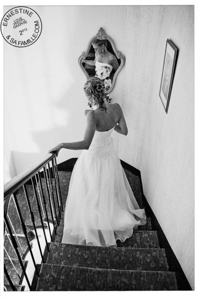 Séance Trash the dress : l'imagination en roue libre ! - Crédit : Ernestine et sa famille