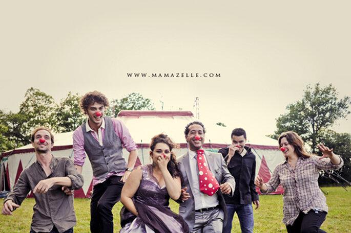 Ausgelassener kann ein Hochzeitsfest nicht sein. - Foto: www.mamazelle.com