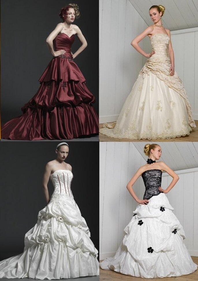 Duchesse-Hochzeitskleider in Farbe: Möchten Sie etwas ganz Besonderes?