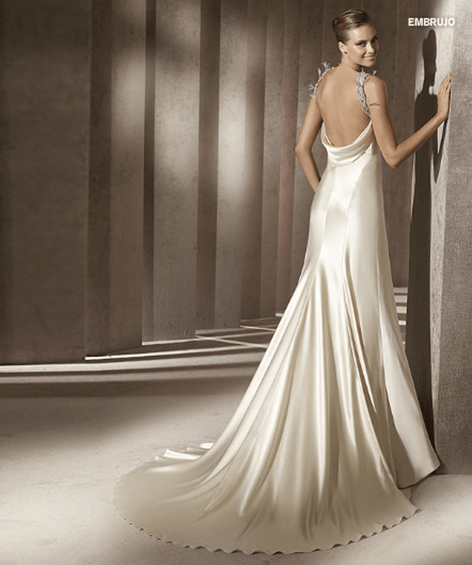 Robe de mariée Embrujo - Collection Manuel Mota - Pronovias 2012