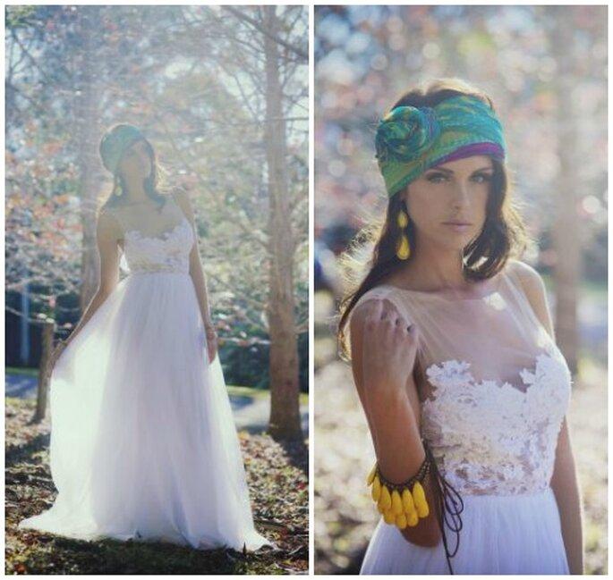 kolorowe dodatki do sukni ślubnej
