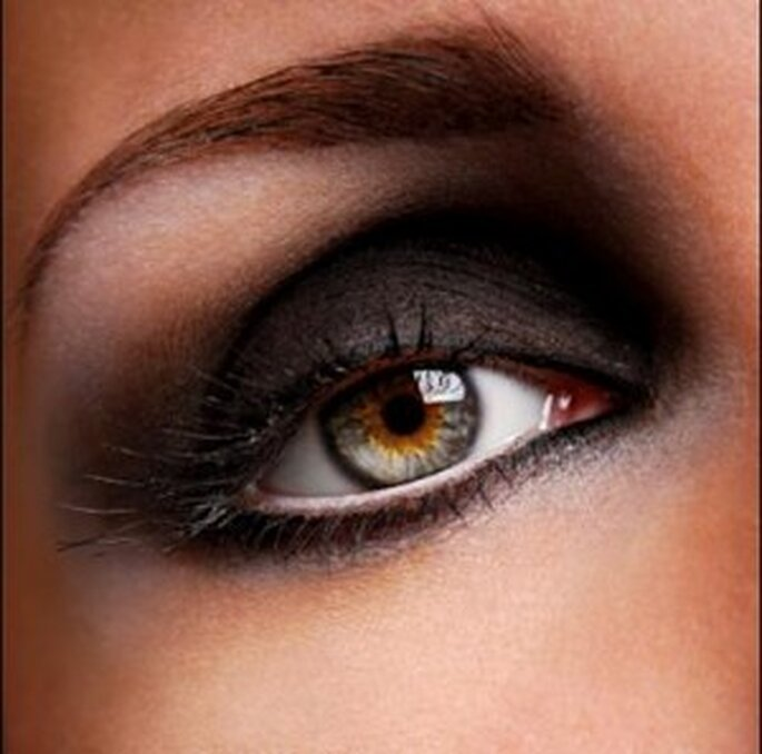 Las novias estarán bellas con los ojos ahumados