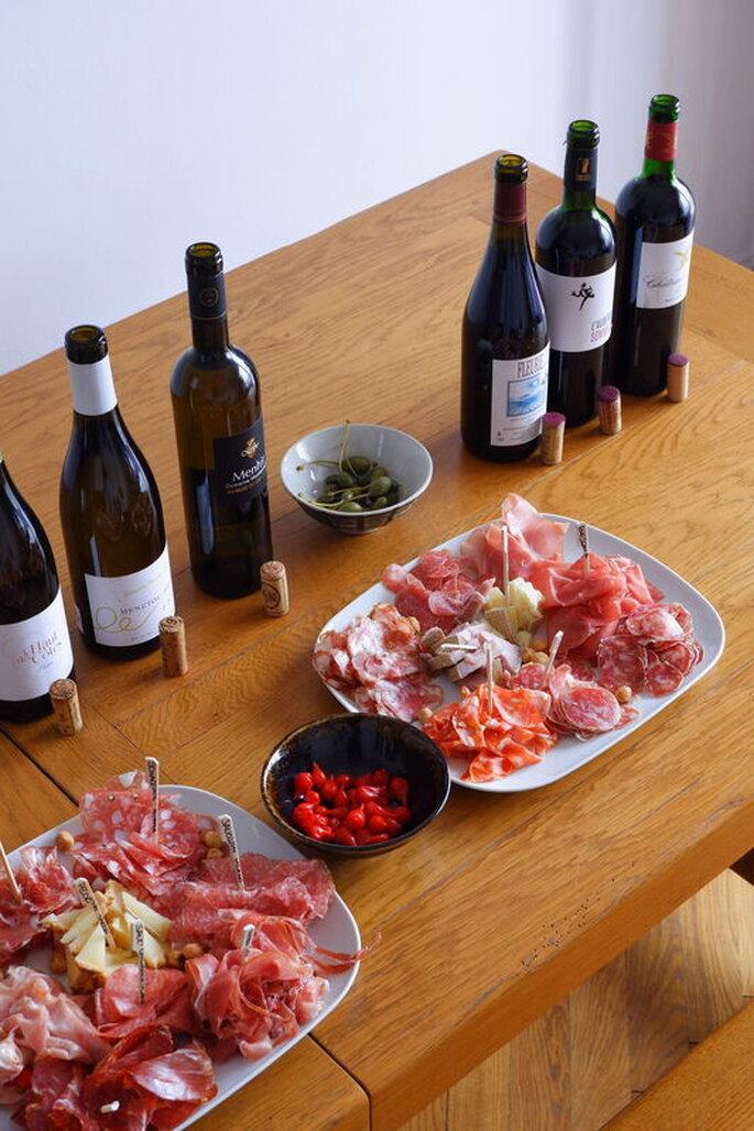 Orion Dégustation - vin et menu de mariage - Lyon