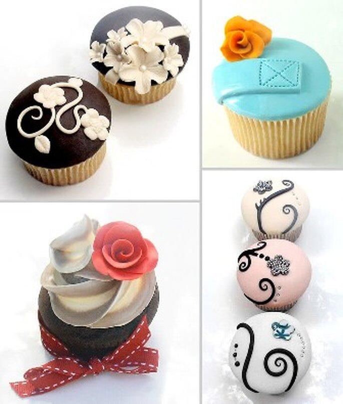Cupcakes para casamientos