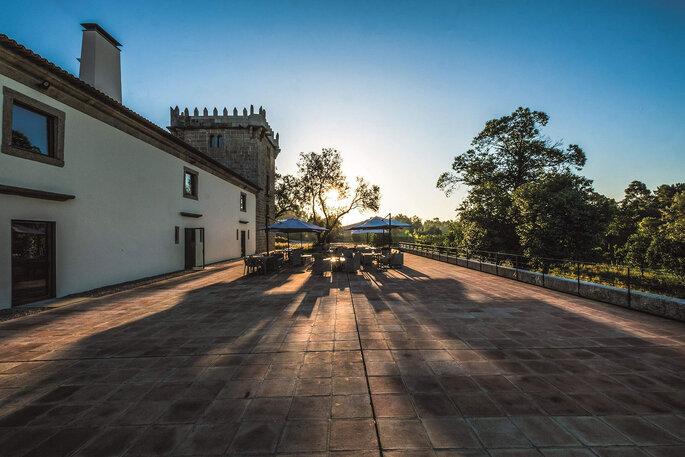 Exterior do Torre de Gomariz Wine & Spa Hotel