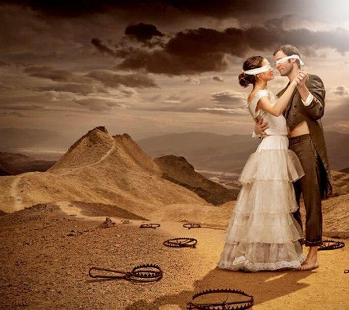 Não ver a noiva antes do casamento é sinal de boa sorte