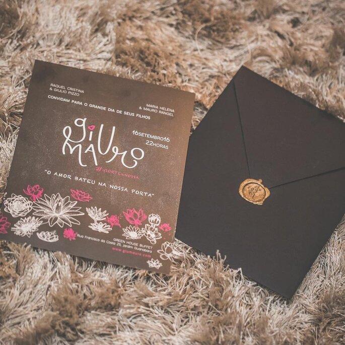 Convite: Criamia Convites - Foto: Wernek Fotografia